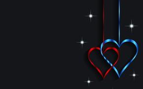 Картинка сердце, графика, Valentine's Day