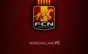 Картинка wallpaper, sport, logo, football, Nordsjaelland
