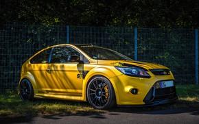 Обои Ford, Focus, Yellow