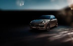 Обои Porsche, Turbo, 2018, Cayenne, TechArt
