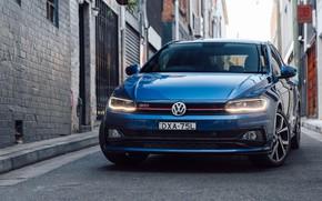 Картинка Volkswagen, GTI, 2018, Polo