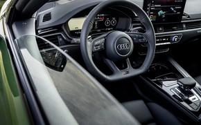 Картинка Audi, дверь, салон, RS 5, 2020, RS5 Sportback