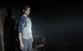 Картинка Элли, The Last of Us, Naughty Dog, Одни из нас, Ellie, PS4, Выживание, Games Survival