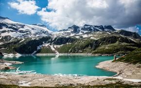Картинка Nature, Mountains, Austria, Alps, Lake