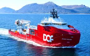 Картинка Море, Судно, Нос, Техника, Бак, Vessel, Offshore, Offshore Supply Ship, Supply Ship, Skandi Vinland, Support …