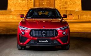 Картинка Maserati, вид спереди, кроссовер, Launch Edition, Trofeo, Levante, 2019