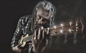 Картинка музыка, человек, гитара