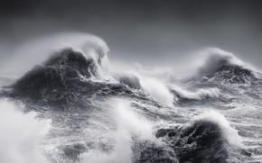 Картинка море, волны, шторм