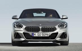 Картинка серый, BMW, родстер, передок, BMW Z4, M40i, Z4, 2019, G29
