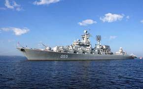 Обои крейсер, ракетный, проект 1164, маршал устинов