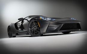 Картинка Ford, суперкар, Ford GT, 2020, Liquid Carbon