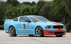 Картинка Mustang, Ford, Saleen, Coupe, 2007, Extreme, S281