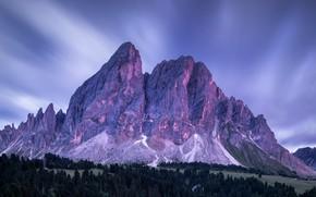 Картинка Небо, Гора, Лес