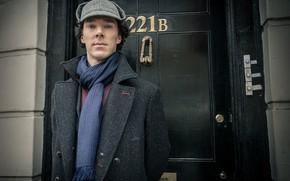 Картинка дверь, Шерлок Холмс, Бенедикт Камбербэтч, Benedict Cumberbatch, Sherlock, Sherlock BBC, Sherlock Holmes, 221B Baker Street, …