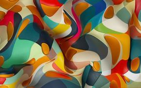 Картинка узор, краски, лоскут