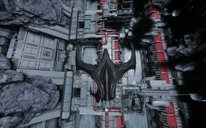 Картинка игра, game, космический корабль, Star Citizen, screenshot, космический симулятор, Компьютерная игра