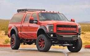 Картинка Ford, custom, 4x4, Super Duty, F-250, pickup tuning