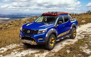 Обои Concept, Nissan, пикап, 2018, Sentinel, Frontier