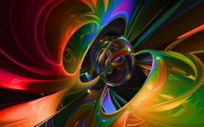 Картинка краски, шар, сфера, объем