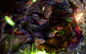 Картинка Blizzard, Protoss, StarCraft 2, Justice, StarCraft, Зератул, Zeratul, Star Craft, Dark Prelate, Nerazim, Тёмный Тамплиер, …