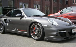 Картинка тюнинг, купе, 911, спорткар, Edo Competition, Porsche 997, Turbo Shark