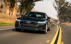 Картинка Audi, разметка, 2019, A7 Sportback