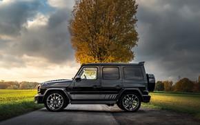 Картинка Mercedes-Benz, вид сбоку, AMG, Inferno, G-Class, Gelandewagen, G63, Manhart, 2019, G 700