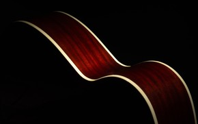 Картинка цвет, гитара, форма
