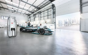 Картинка formula e, electric vehicle, ABB