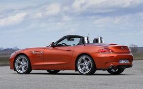 Картинка BMW, родстер, сбоку, двухместный, 2013, E89, BMW Z4, Z4, sDrive35is