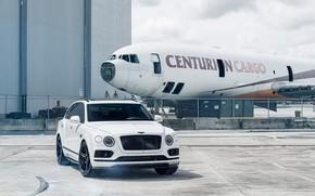 Картинка Bentley, White, VAG, Aircraft, Bentayga