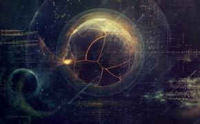 Обои Текстура, Арт, Графика, Интерфейс, Рендеринг, Данные, by Dimitris Ladopoulos, Motion Graphics, Dimitris Ladopoulos, UI & ...