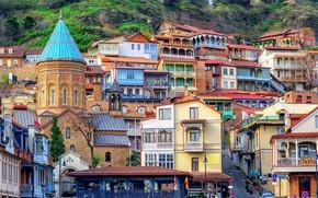 Картинка дома, Грузия, Тбилиси