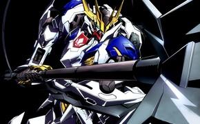 Картинка оружие, фантастика, робот, аниме, Mobile Suit Gundam