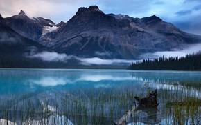 Картинка горы, Канада, озеро Эмералд