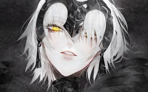 Картинка взгляд, девушка, портрет, Fate / Grand Order, Судьба великая кампания