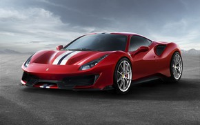 Картинка авто, Ferrari, суперкар, Ferrari 488 Pista