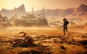 Картинка poster, Фар Край 5, Lost on Mars, Far Cry 5, screenshot, шутер