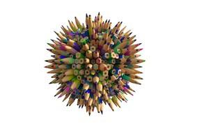 Картинка арт, карандаш, Substance Designer Pencil - %100 Procedural, Serkan Buldan