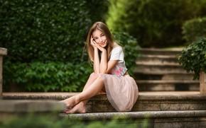 Картинка девушка, поза, Катя, Анастасия Бармина
