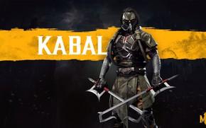 Картинка боец, клинки, Смертельная Битва, Mortal Kombat, Кабал, blades, Kabal, Mortal Kombat 11