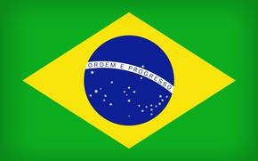 Картинка Brazil, Flag, Brasil, Flag Of Brazil, Brazilian Flag