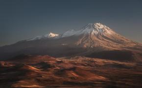Картинка горы, вулкан, mountains, volcano, Антон Ростовский