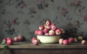 Картинка яблоки, миска, натюрморт, Still Life