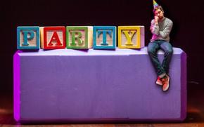 Картинка purple, Block, Party