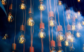 Картинка Light, Macro, Bulb, Electricity