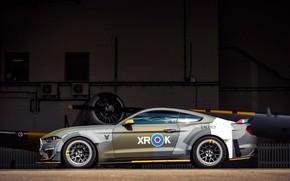 Картинка Ford, вид сбоку, RTR, 2018, Mustang GT, Eagle Squadron