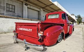 Картинка Chevrolet, Red, Low, 3100