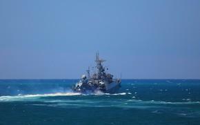 Картинка корабль, черное море, вмф, противолодочный, малый, суздалец, проект 1124м