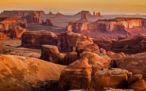 Картинка горы, скалы, каньон, Аризона, Юта, США, Долина Монументов, Монумент Вэлли